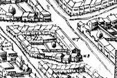 Ausschnitt Stadtplan 1589
