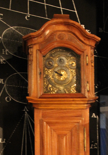 Astronomische Uhr nach Ignaz Zanner im Uniseum Freiburg